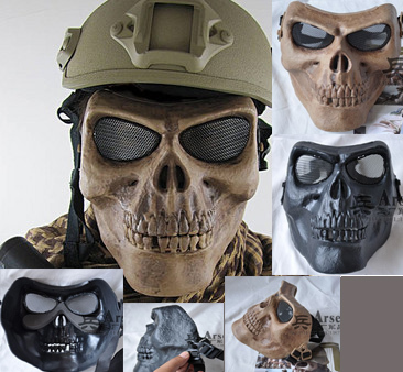 skull-airsoft-paintball mask